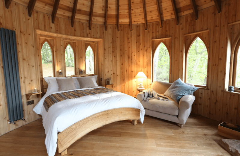 unique airbnb stays uk treehouse
