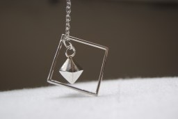 Silver Pendant on Sterling Silver chain