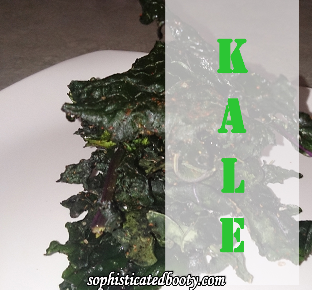 Get Clean with Kale & Yummy-Kale Chips Recipe - Sophisticated Booty