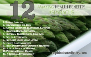 12 Amazing Health Benefits of Asparagus - Sophisticated Booty