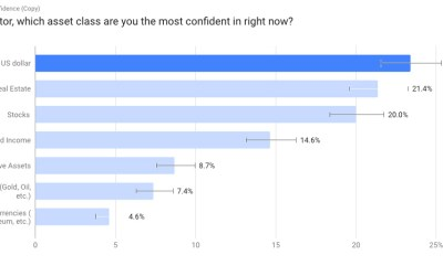 New Survey Reveals That Investors Are Extremely Confident In The US Economy