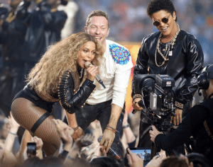 super bowl, 50, 2016, halftime show, beyonce, coldplay, bruno mars