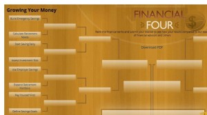 financial four, nefe, sophisticated spender, march madness