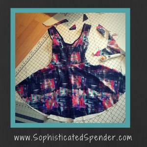 dress, sewing, sophisticated, spender, crystal hammond