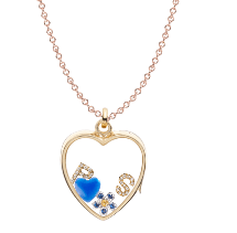 Loquet London Heart pendant. Valentine's J Read more on www.sophiworldblog.comewellery