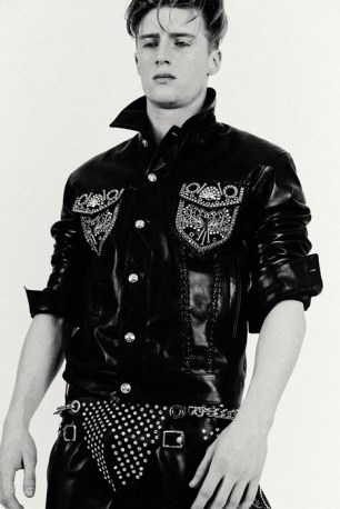 Tom Strangwick for Versace A/W 2014