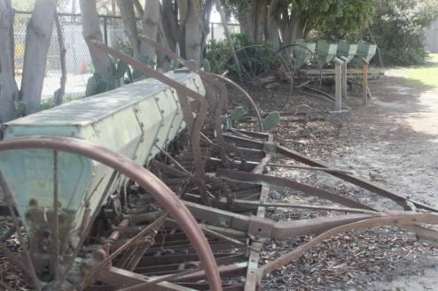 old backyard machineries