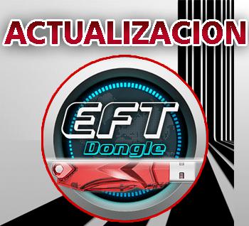 Actualización EFT Dongle version 1.2.7 Hardware y Software