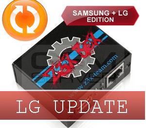 Actualización z3x LG 2-3G Tool 9.41