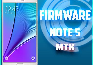 "Firmware Note 5 Mtk ""clon"""