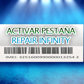 Como Activar la pestaña repair en infinity box / dongle