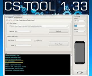 Actualización CSTool S Module 1.33