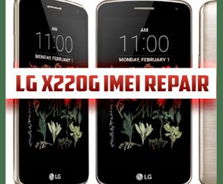 Reparación de imei lg x220g