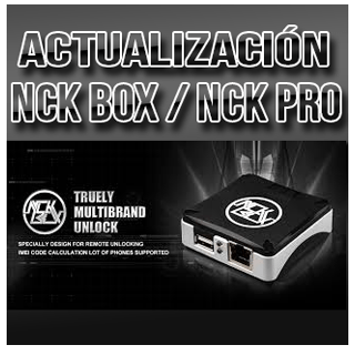 NCK BOX / NCK PRO Android MTK Module v1.8.8.2