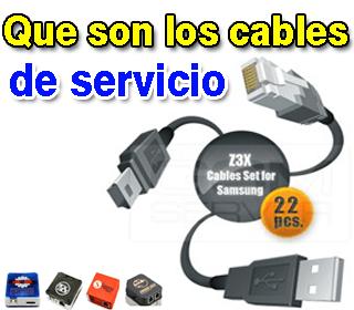 Que son los cables de servicio UART