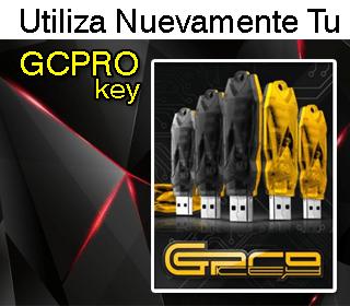Como utilizar nuevamente GCPROKEY en su versión 58