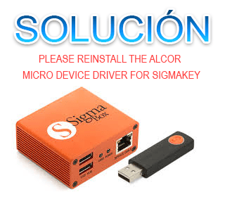Como Solucionar Please reinstall the Alcor Micro device driver for SigmaKey/Box/smartclip2