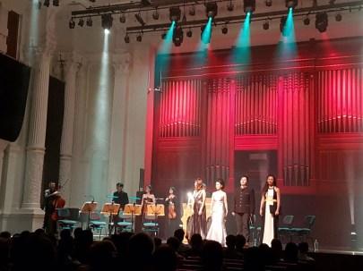 Pergolesi's Stabat Mater, Victoria Concert Hall, Singapore. April 2017.