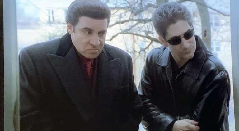 Silvio and Christopher The Sopranos
