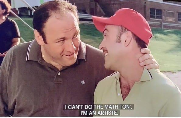 Tony and Artie in Boca Episode