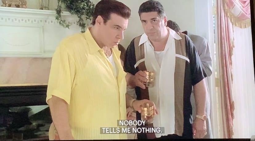 Silvio and Big Pussy talking-Big Girls Don't Cry