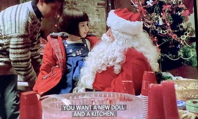 Puss Playing Santa Claus