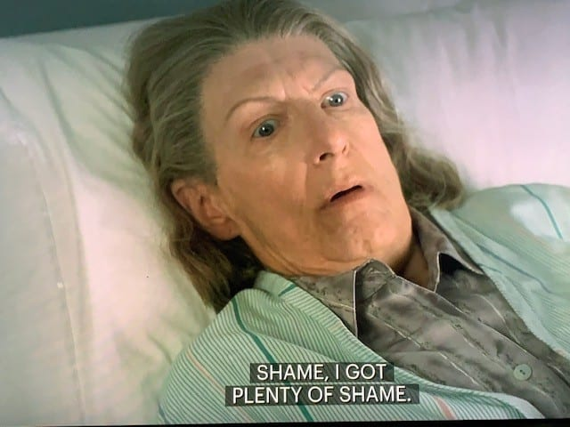 Livia Soprano talking about Shame