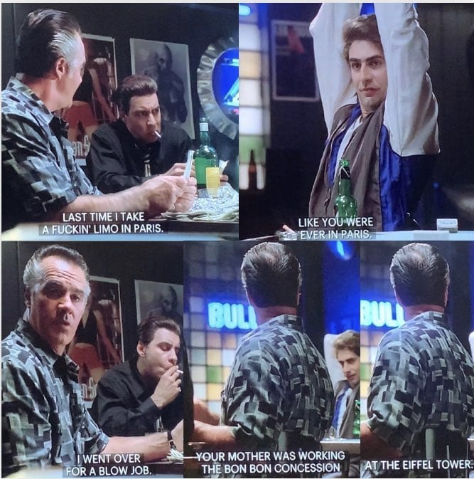 Paulie Walnuts Talks to Christopher About The Eiffel Tower
