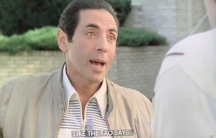 Richie Aprile talking to Tony Soprano