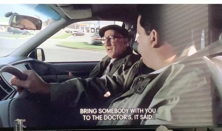 "Junior Soprano talking to Bobby Bacallieri in ""Second Opinion"""