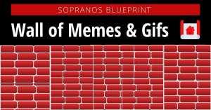 Sopranos Wall of Memes & Gifs