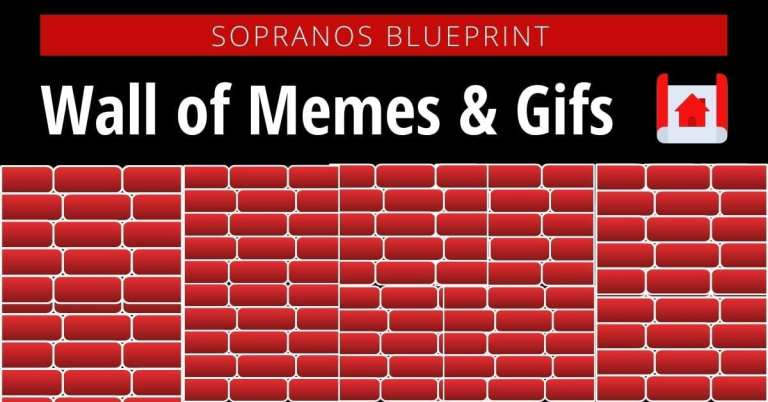 Sopranos Wall of Memes & Gifs