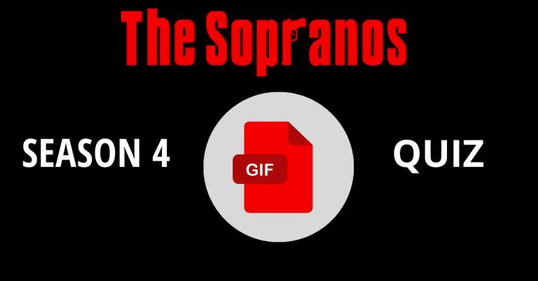The Sopranos Season 4 Gif Quiz