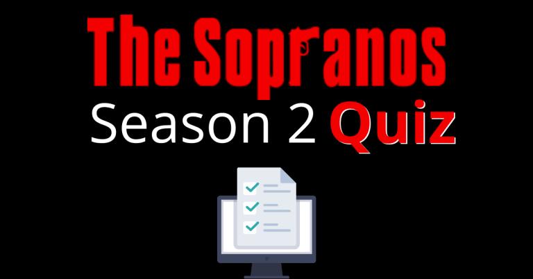 The Sopranos Season 2 Quiz