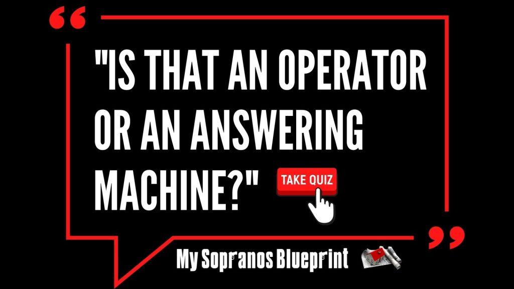 The Sopranos Quotes Executive Game: Who Said it?