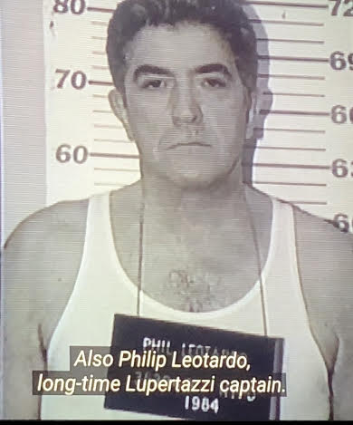 Phil Leotardo's mug shot from the 1960s.