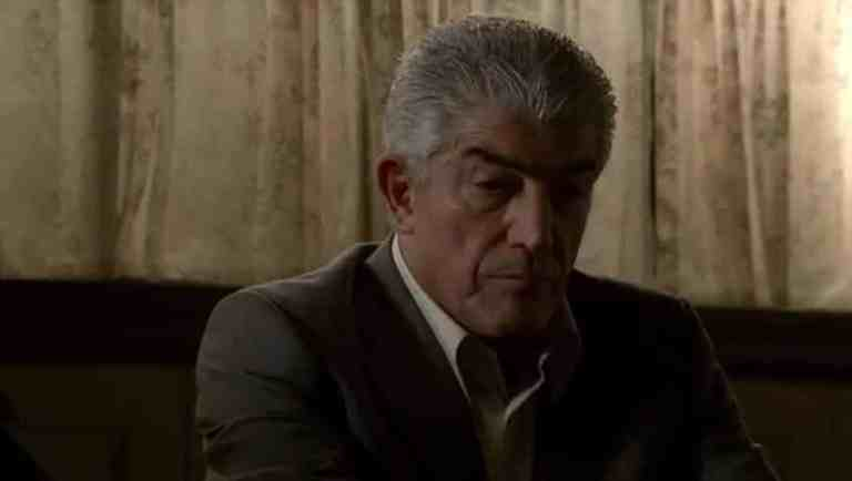 Phil Leotardo is telling his crew that he won't whack a boss.