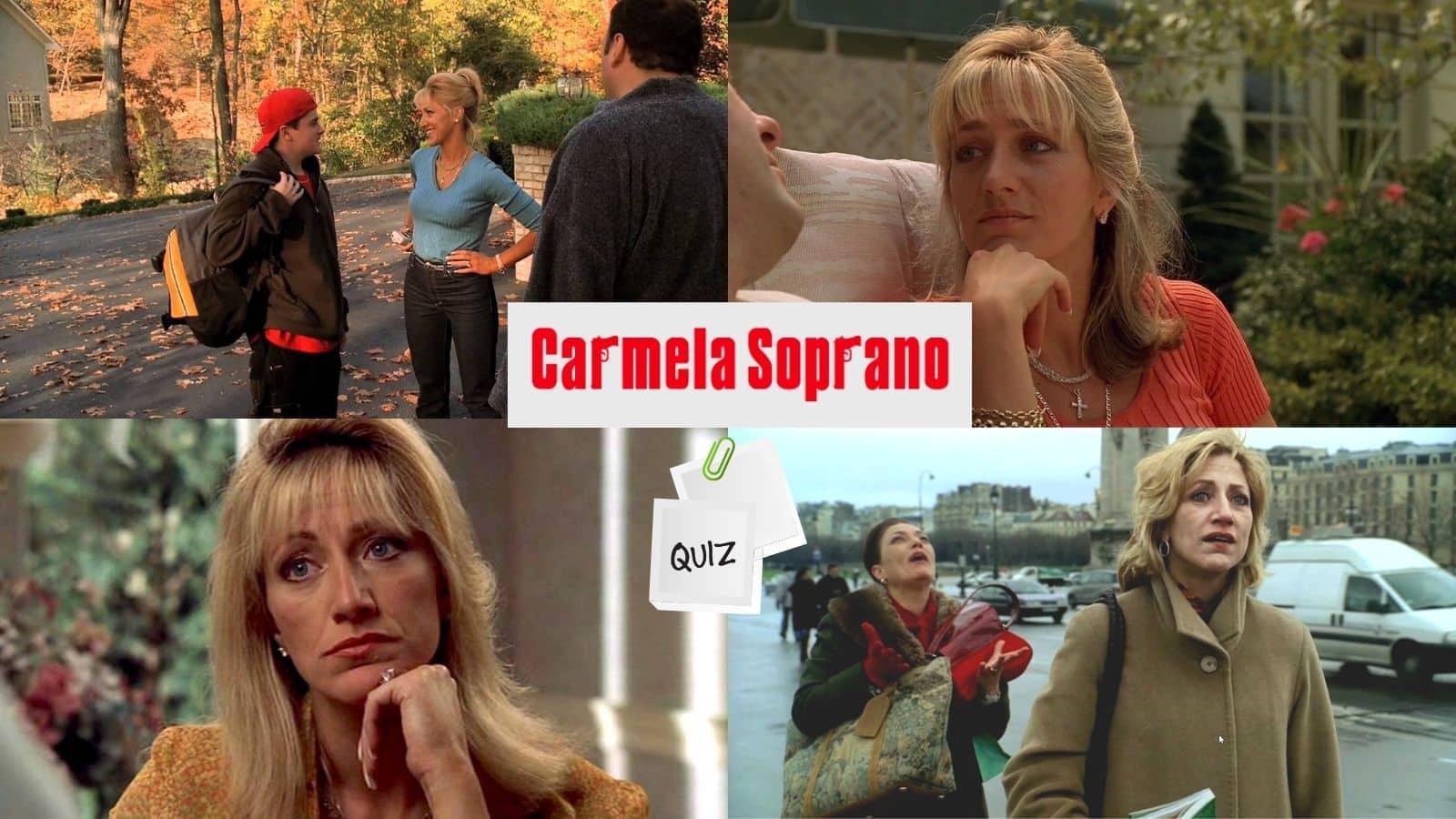 carmela soprano trivia