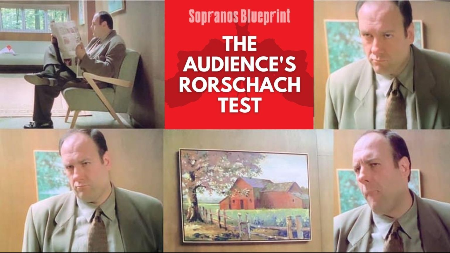 The Sopranos Rorschach Test is Our Own Unique Journey