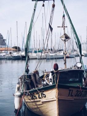 bateau, toulon, port, le visible est invisible