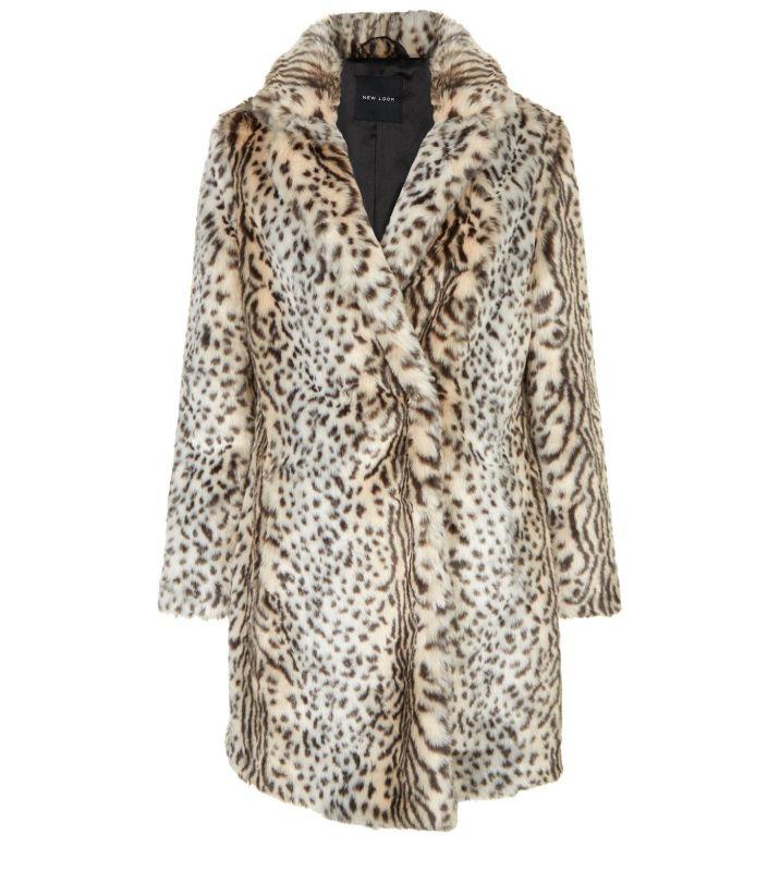 manteau-blanc-mi-long-en-fourrure-synthétique,-à-imprimé-animal-