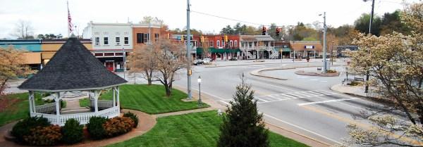 Clarkesville-Square