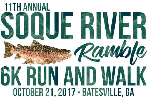Join us for the 11th Annual Soque River Ramble