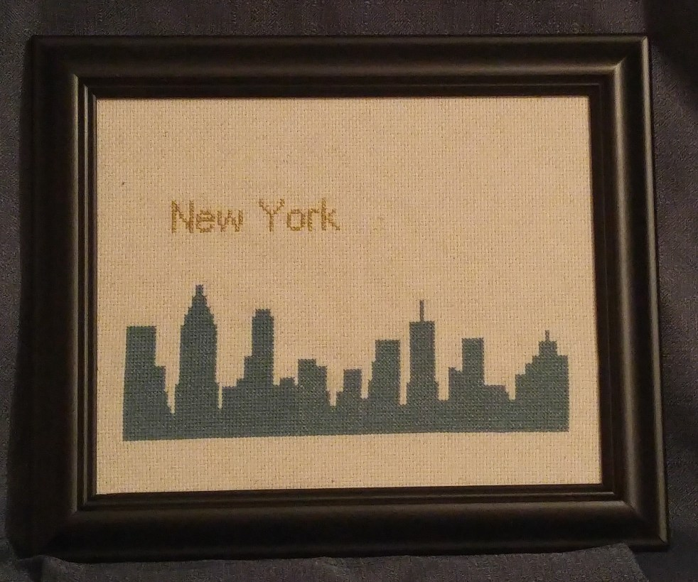 basic stitch | NYC Skyline Cross-Stitch