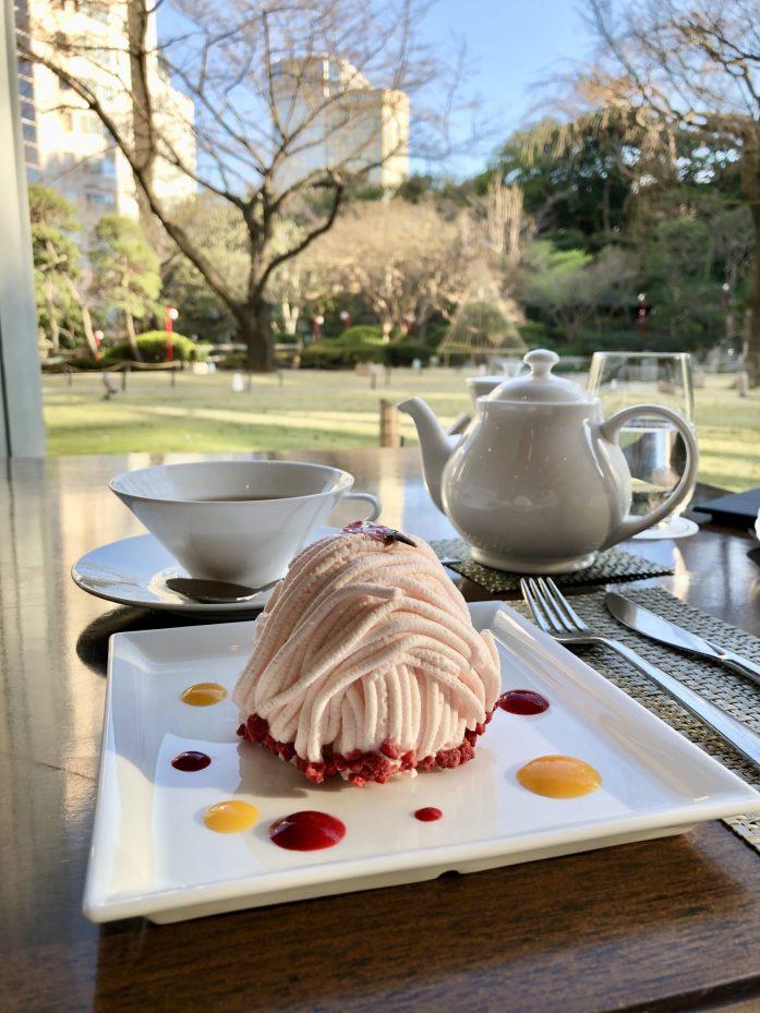 グランドプリンスホテル高輪「光明」桜のモンブラン