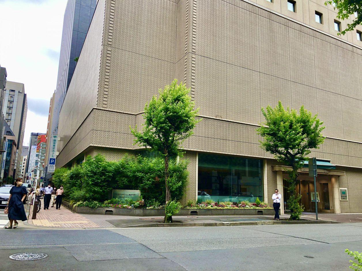コートヤードマリオット銀座東武ホテル 外観
