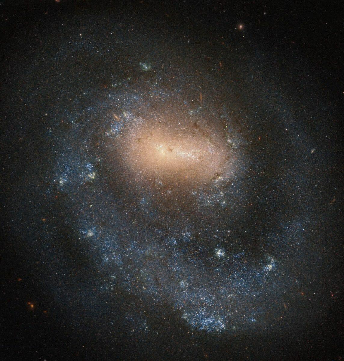 淡い霧のような片腕の特異銀河「NGC 4618」 | sorae 宇宙へのポータルサイト