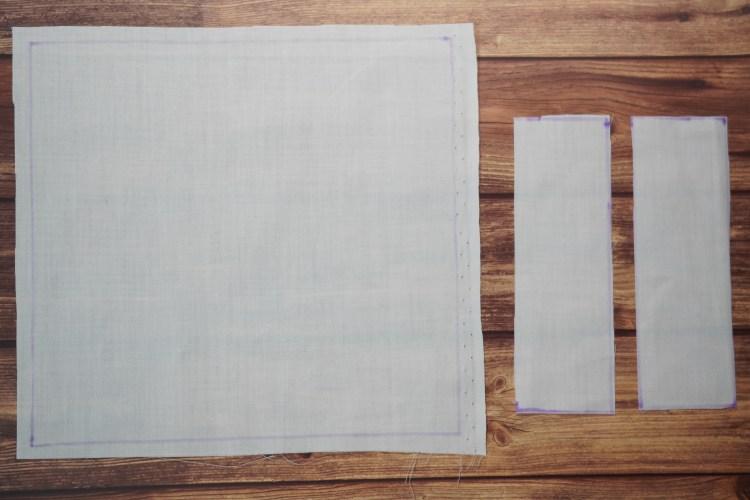 そらいろソーイング手作りプリーツマスク無料型紙作り方