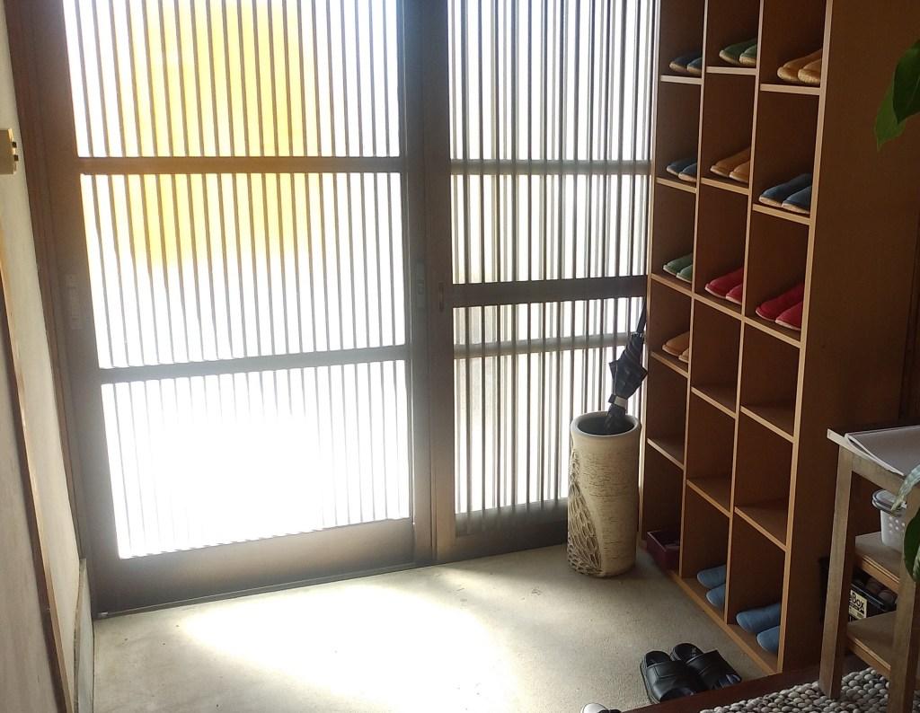 小豆カフェあんこ(玄関)