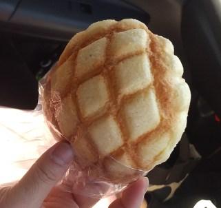 『パン工房 ハヌル』メロンパン